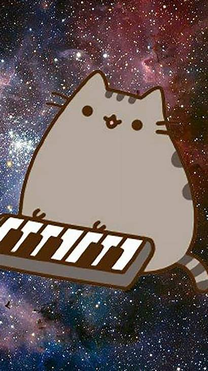 Pusheen Wallpapers Space Background Android Synth