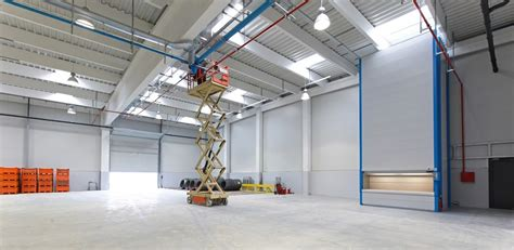 industrial commercial interior design services in