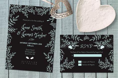 Popular Invitation Templates ~ Page 10 Dark wedding