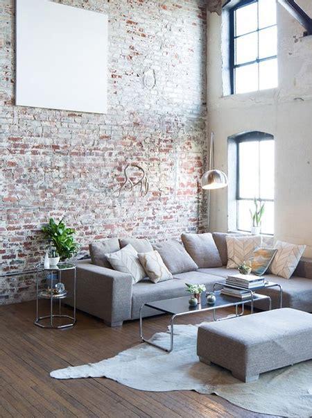 home dzine home decor living rooms  exposed brick walls