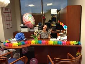 Day Office Decorations by Birthday Weekend Events