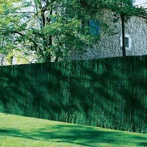 brise vue brise vent canisse et occultation castorama With brise vue avec jardiniere 2 brise vue naturel castorama