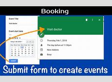 How to automatically add events to a Google Calendar from