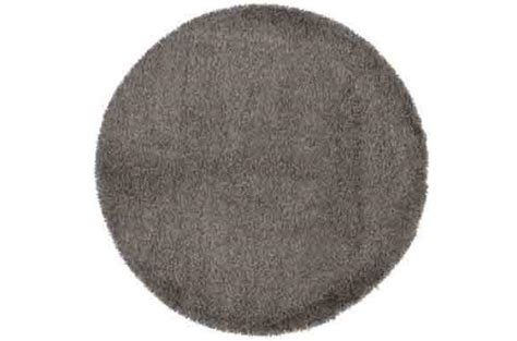 tapis rond 160 gris shaggy tapis design pas cher