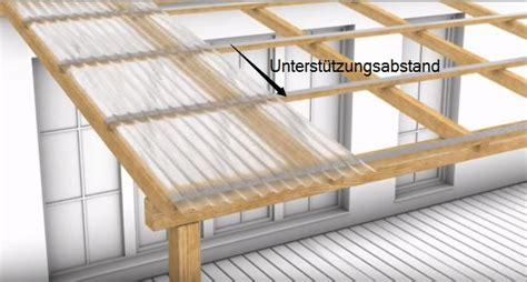 Pvc Verlegen Tipps by Wellplatten Richtig Verlegen Tipps Zu Unterkonstruktion