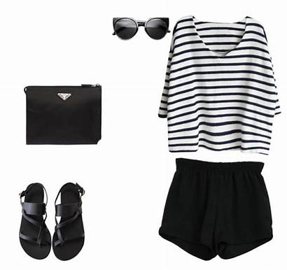 Outfits Grunge Hipster Polyvore Chic Similar