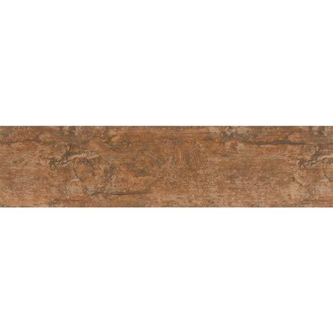 6 x 24 porcelain tile ms international ecowood copper 6 in x 24 in glazed porcelain floor and wall tile 16 sq ft