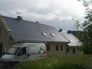 Tole Pour Toiture : peinture de toit couverture en toles noxidation de toiture ~ Premium-room.com Idées de Décoration