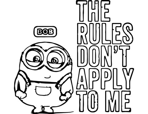 Minion Coloring Pages Bestofcoloringcom