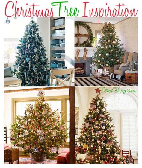 christmas tree inspiration christmas tree inspiration