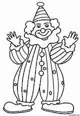 Clown Coloring Printable Drawing Cool2bkids Getdrawings sketch template