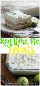 Key Lime Pie Eclair ~ Southern on a Shoestring {Cookbook ...