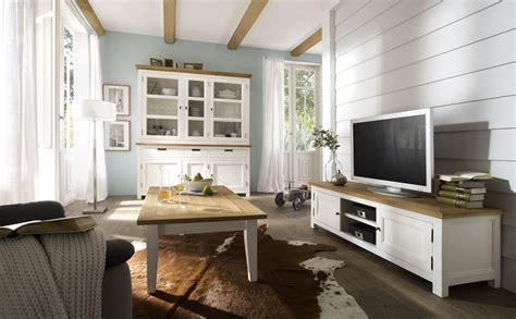 Wohnzimmer Weis Landhausstil