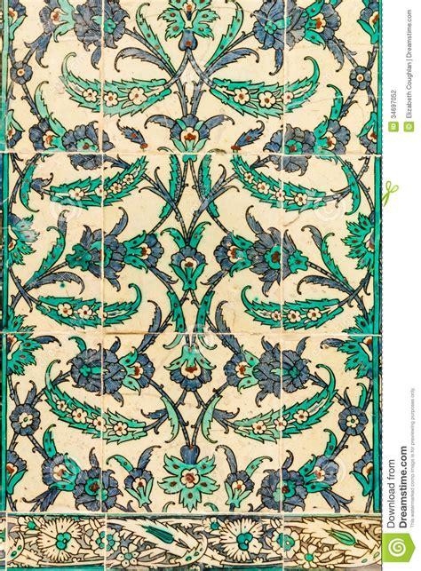 stock di piastrelle piastrelle di ceramica turche fotografia stock immagine