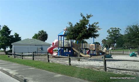 winter garden parks  playgrounds