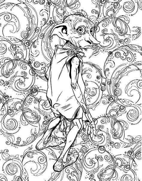 14Pages-Harry-Potter.jpg (670×850) | Harry potter coloring pages, Harry potter adult coloring