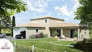 provenciere la maison provencale par babeau seguin With exceptional modele de maison en l 4 photo terrasse maison provencale