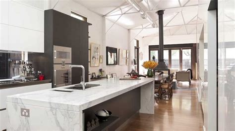 kitchen   converted warehouse optimises light