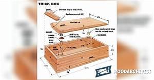 Trick Box Plans • WoodArchivist