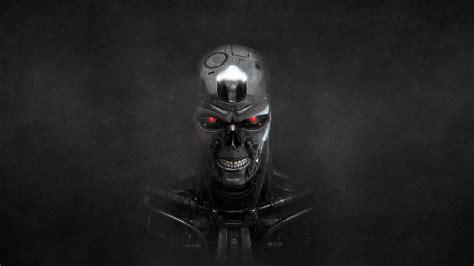 Download Wallpaper 1920x1080 Terminator Skeleton Metal