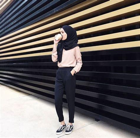 girl    ways casual hijab outfit hijab chic  pakaian modis