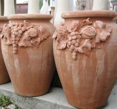 vasi grandi in terracotta vasi terracotta portaombrelli frutta dima95 terracotta