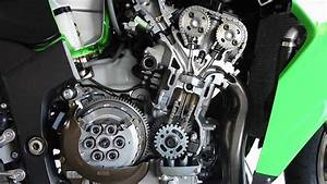 A Kawasaki Four Cylinder 250 In The Making