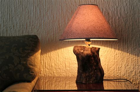 tree trunk lamp  steps  pictures wikihow