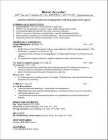 skill for a resume computer skills resume exle