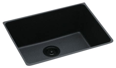 elkay gourmet e granite undermount sink black