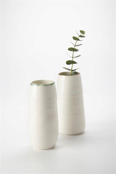 Lustre Vase by Ceramic Porcelain Bronze Lustre Detail Vase By Kirsty