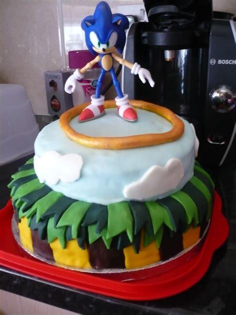 sonic cakes decoration ideas  birthday cakes