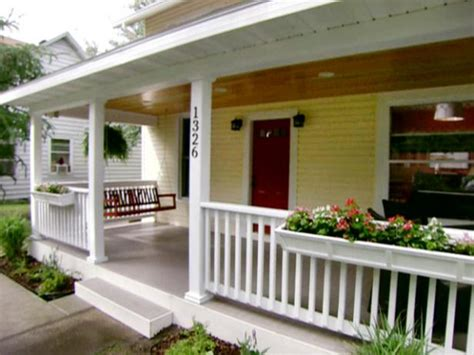 Build Porch by Front Porch Addition Diy