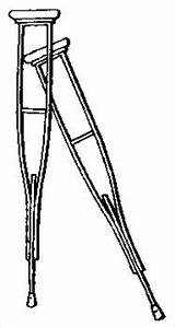Crutches Clipart Crutch Medical Supplies Clip Medicine Cliparts Coloring Wpclipart Quia Muletas Pages Webp Library Box Formats Clipartpanda Occurrences Unexpected sketch template