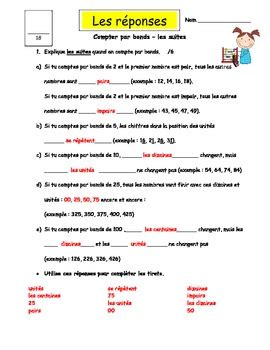 french worksheets for grade 3 immersion french immersion freebie grade 3 skip counting