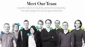 50 Web Layouts for Showcasing Company Teams & Employees ...