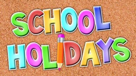 school holidays school school news branford elementary