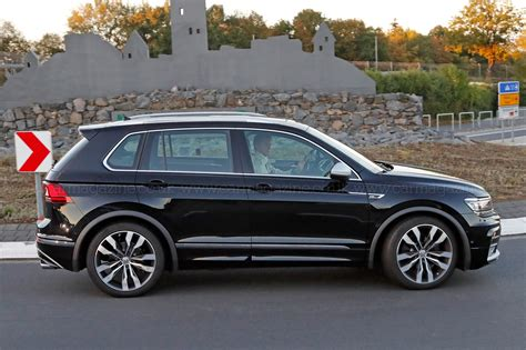 volkswagen tiguan the best all rounder around vw tiguan r spotted by car