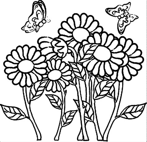 coloring pages of flowers flower coloring pages for adults coloring pages