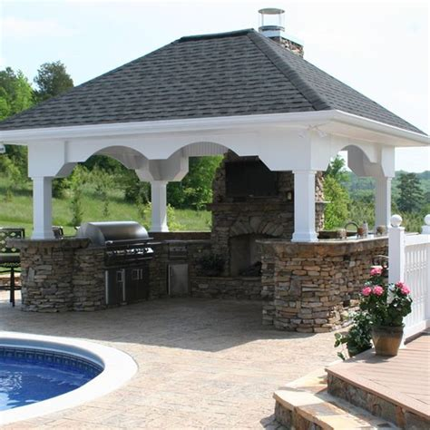 u shaped outdoor kitchen designs u shaped custom outdoor kitchen u 01 woodlanddirect 8652