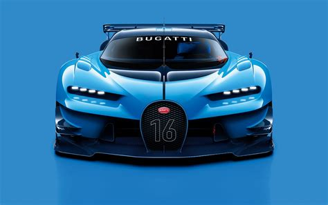 Bugatti Vision Gran Turismo At Frankfurt Motor Show
