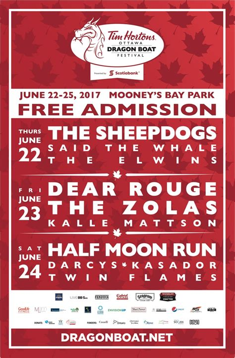 Dragon Boat Festival 2017 Ottawa by Ottawa S Dragon Boat Festival Gets Sheepdogs Dear Rouge