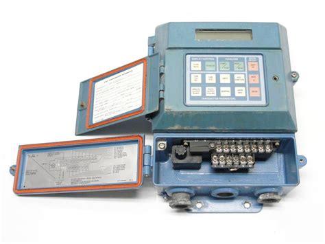 rosemount   cr magnetic flow transmitter ebay