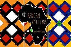 African Seamless Patterns In Vector
