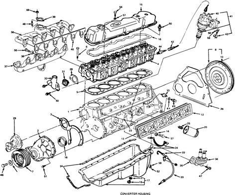 ford truck    mfi ffv sohc cyl repair guides engine mechanical timing gears