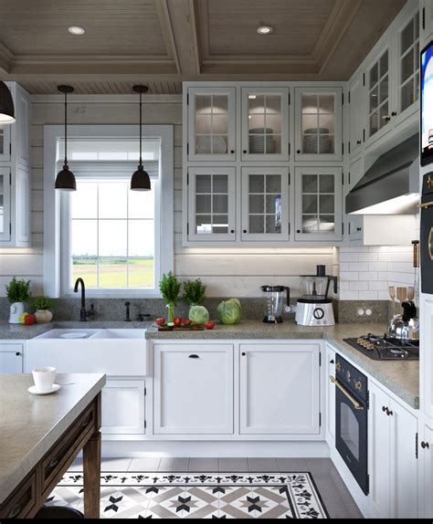 provence kitchen design 2 provence style apartment designs with floor plans 1673