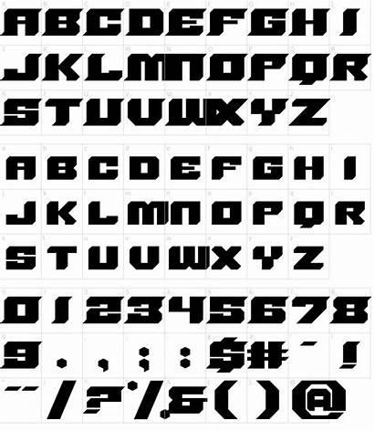 Sharp Font Core Fonts Characters Character