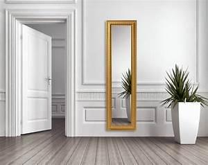 Miroir Doré Rectangulaire : grand miroir dor id es pour une d coration int rieur r ussie ~ Teatrodelosmanantiales.com Idées de Décoration