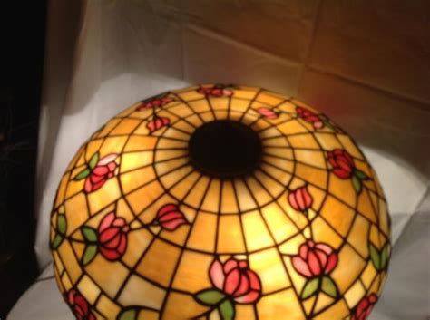 dons lamps antiques ja whaley leaded glass lamp