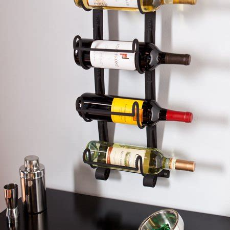 kendt wall mount wine rack walmartcom